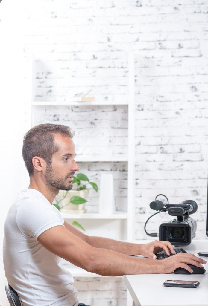 Editor de vídeo y animaciones